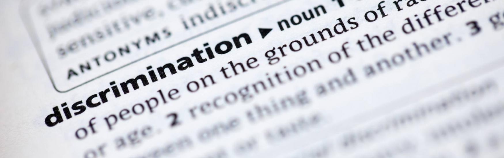 Discrimination news